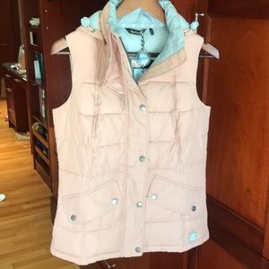 Barbour NWT Landry Gilet US sz 4 hooded vest
